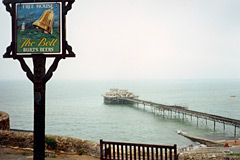 The Bell Bar and Ventnor Pier