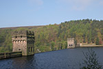 The Howden Dam at full capacity