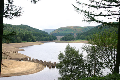 Howden dam in the far distance
