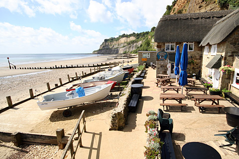 Fishermans Cottage, Shanklin beach