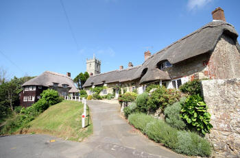 Godshill thatched houses