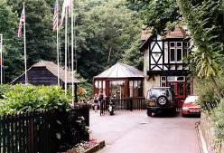 Shanklin Chine lower entrance