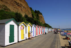Small Hope beach huts, Shanklin 2006