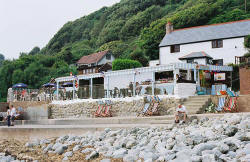 The Beach Cafe', Steephill Cove