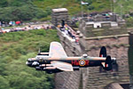 Lancaster over The Derwent dam