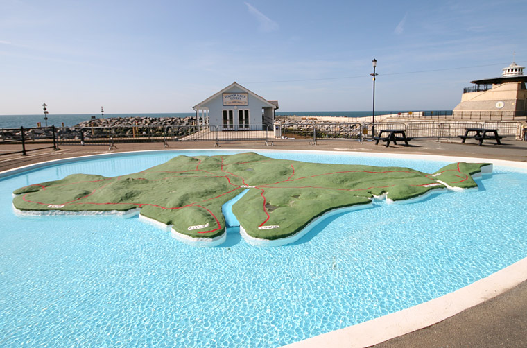 Ventnor Paddling Pool In 2008 Isle Of Wight