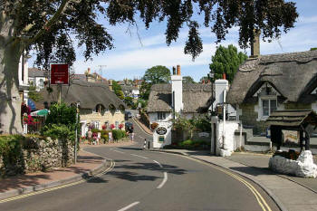 Thatched roofs of Shanklin Old Village